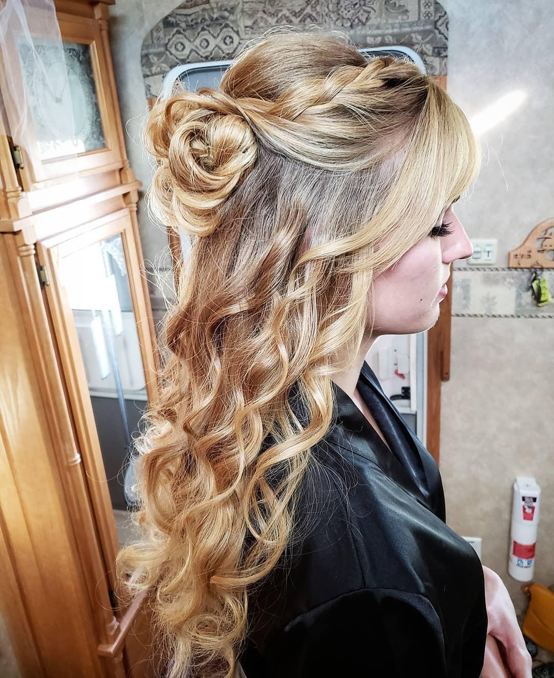 6 kiểu tóc buộc nửa này sẽ giúp teen thêm lung linh khi đến trường - Hình 2