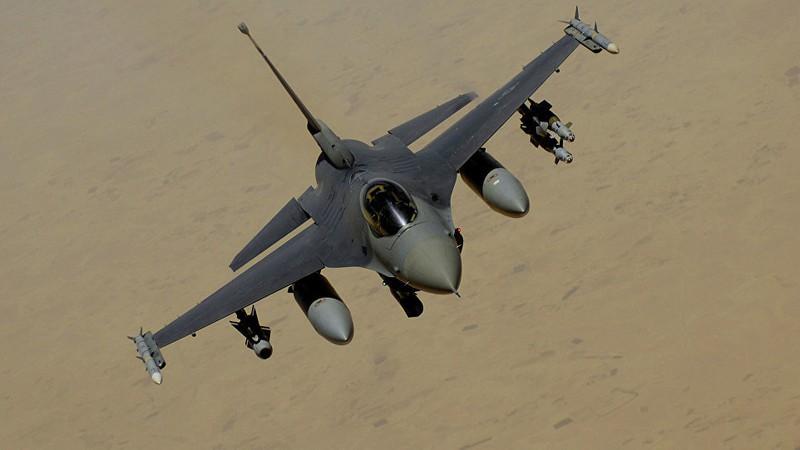 Chiến đấu cơ F-16 của Không quân Mỹ rơi tại Đức - Hình 1