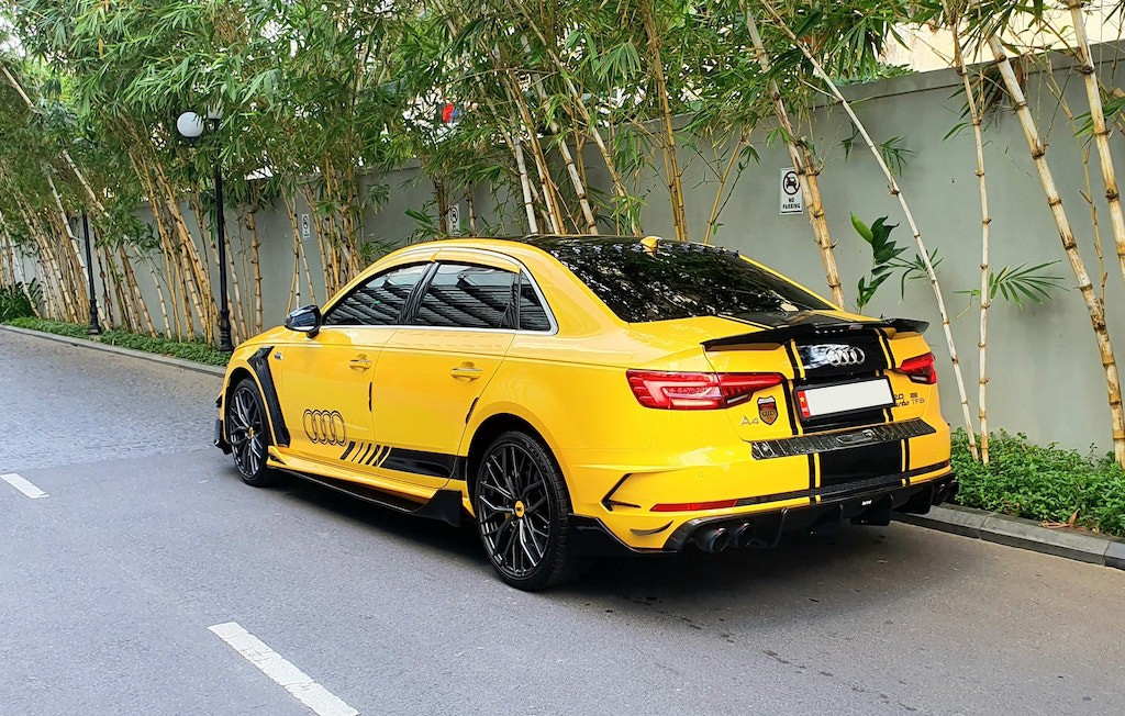 Ngắm nhìn Audi A4 độ ngoại thất thể thao tại Nha Trang, độc nhất vô nhị ở bodykit - Hình 2
