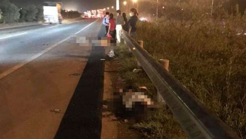 Thêm một nạn nhân tử vong trong vụ nhóm công nhân băng qua đường cao tốc - Hình 1