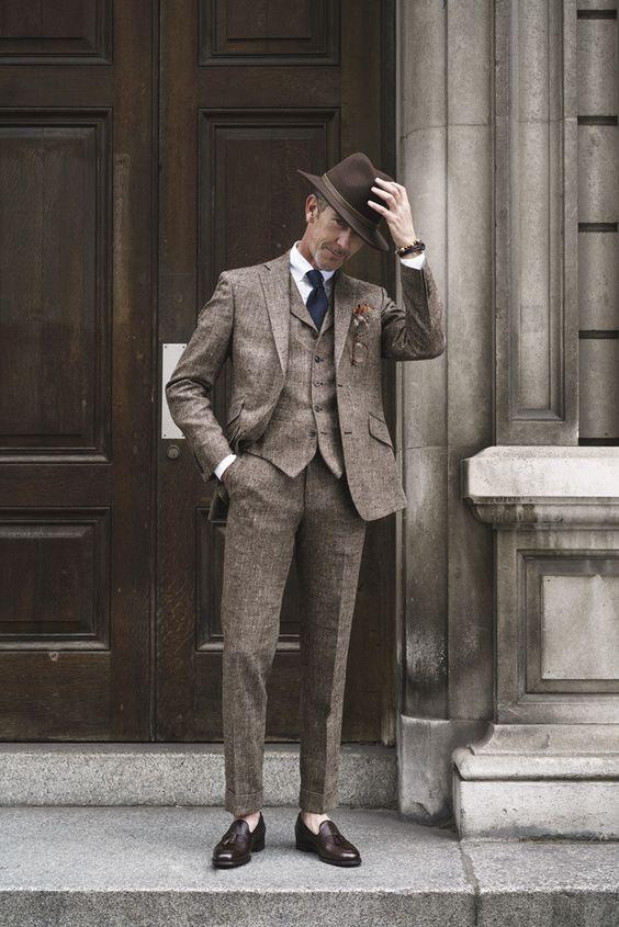 Trở về Thu cổ điển cùng vải tweed - Hình 6
