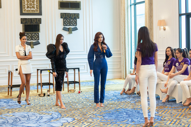 Võ Hoàng Yến: Các em đi thi Hoa hậu thì luôn luôn 24/24, các em phải diễn - Hình 2