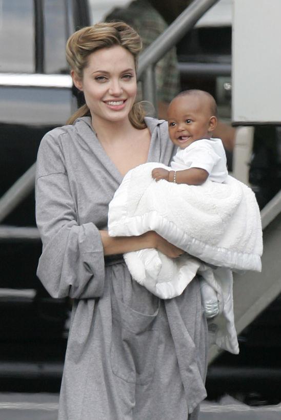 Zahara - con gái nuôi gốc Phi ít được Angelina Jolie nhắc đến - Hình 1