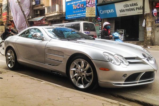 Chi tiết siêu xe Mercedes SLR McLaren độc nhất Việt Nam - Hình 2