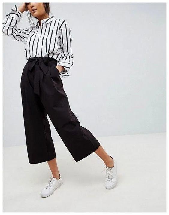 Culottes - chiếc quần có thể cân hết mọi khuyết điểm của đôi chân - Hình 7