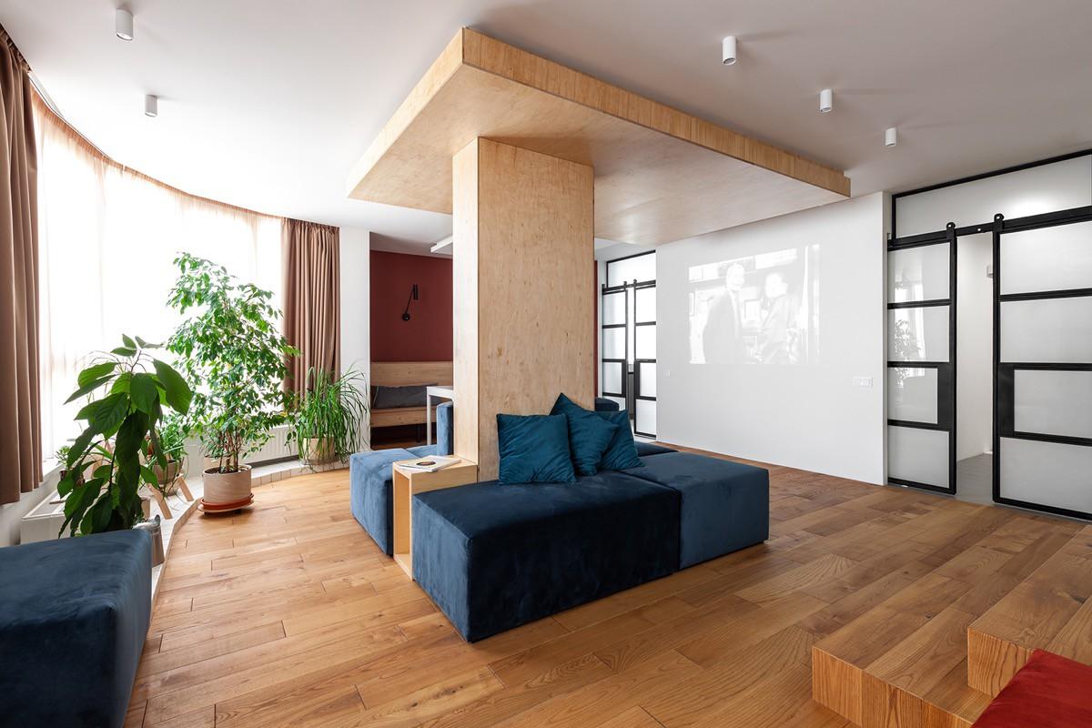 Ngôi nhà 190m2 thoải mái cho trẻ chơi đùa nhờ sử dụng nội thất mô-đun - Hình 2