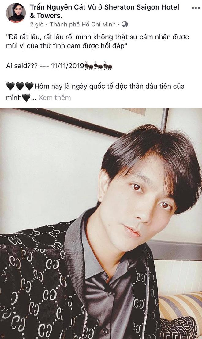 Sao Vbiz tuyên bố độc thân ngày Single Day: Tim - Trương Quỳnh Anh đối lập, Hồ Quang Hiếu vẫn F.A dù bị đồn tái hợp Bảo Anh - Hình 2