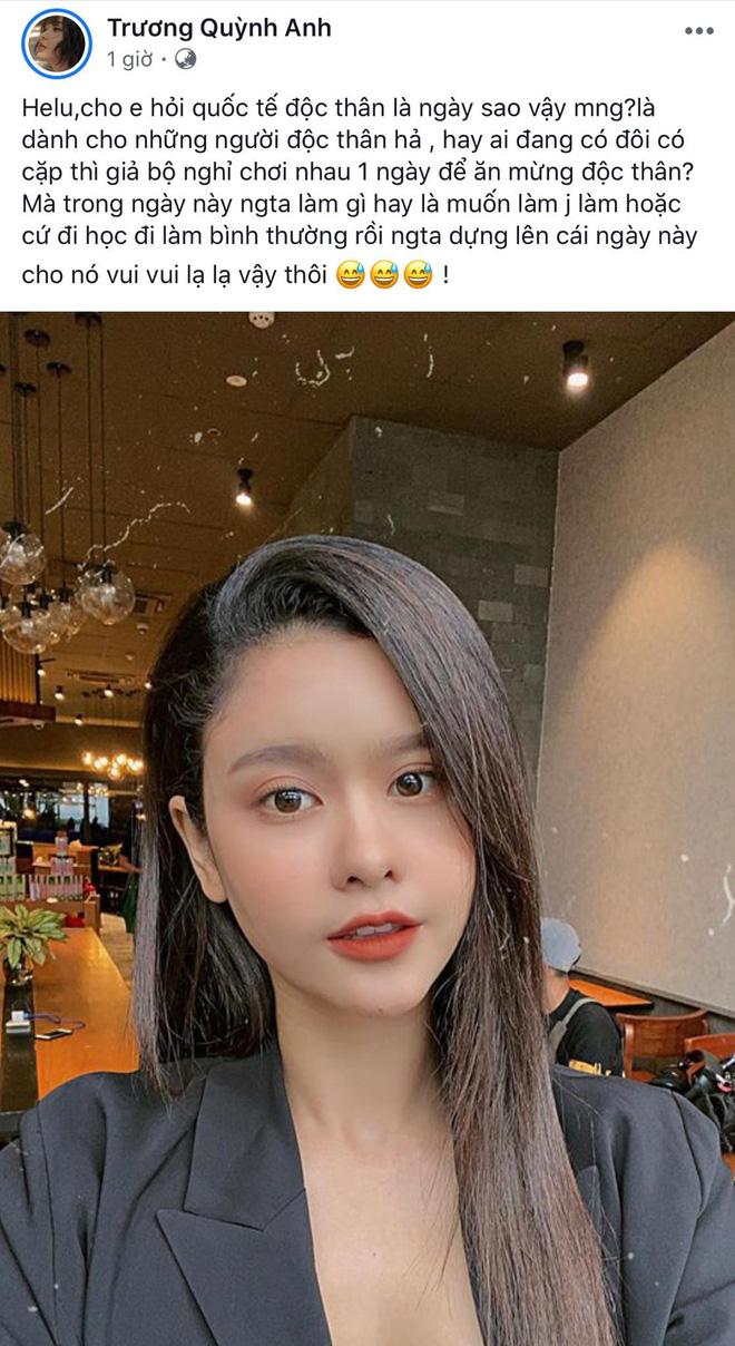 Sao Vbiz tuyên bố độc thân ngày Single Day: Tim - Trương Quỳnh Anh đối lập, Hồ Quang Hiếu vẫn F.A dù bị đồn tái hợp Bảo Anh - Hình 1