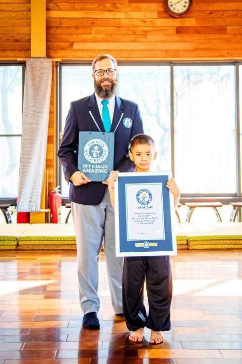 Cậu bé 7 tuổi sở hữu 158 huy chương võ thuật - Hình 1