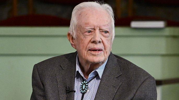 Cựu Tổng thống Mỹ Jimmy Carter nhập viện điều trị não - Hình 1