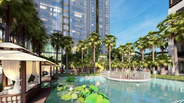 Homes Resort giữa hồ nhân tạo lớn bậc nhất Sài Gòn - Hình 2
