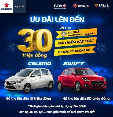 Khuyến mại Suzuki tháng 11/2019: Suzuki Swift ưu đãi 30 triệu đồng - Hình 1