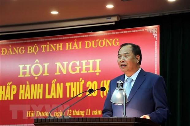 Ông Phạm Xuân Thăng được bầu làm Phó Bí thư Thường trực tỉnh Hải Dương - Hình 2