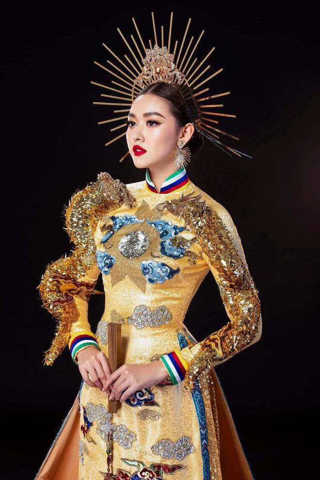 Trước giờ Chung kết Miss International, Tường San gặp sự cố gãy mấn áo dài trang phục dân tộc - Hình 2