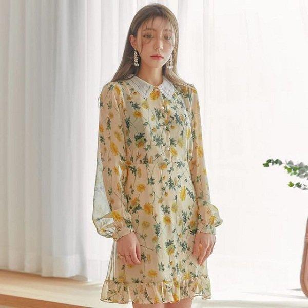 Mùa thu Hà Nội mà diện 1 trong 4 kiểu váy liền này đi làm thì còn gì xinh bằng - Hình 3