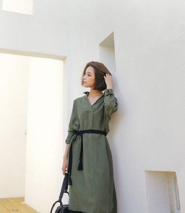 Mùa thu Hà Nội mà diện 1 trong 4 kiểu váy liền này đi làm thì còn gì xinh bằng - Hình 11