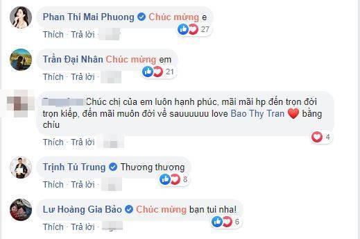 Sao Việt chúc mừng Bảo Thy trước ngày lên xe hoa cùng chồng đại gia - Hình 5