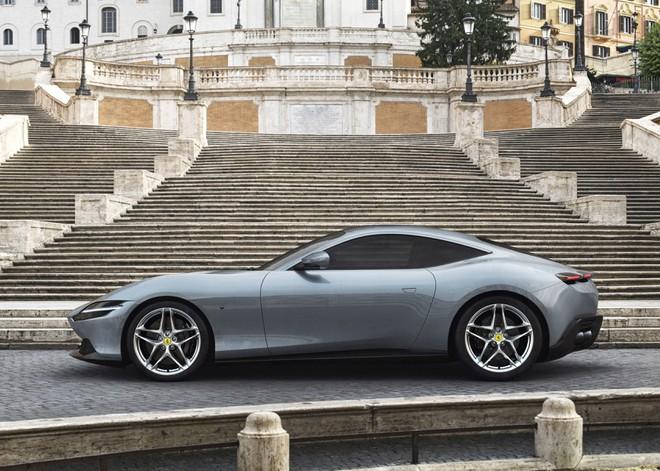 Siêu xe Ferrari Roma ra mắt - Hình 2