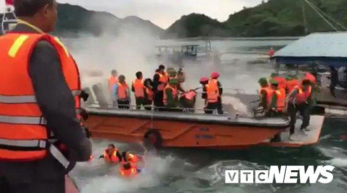 Dân ném bom xăng vào đoàn cưỡng chế ở Quảng Ninh: Những cán bộ bị thương giờ ra sao? - Hình 1