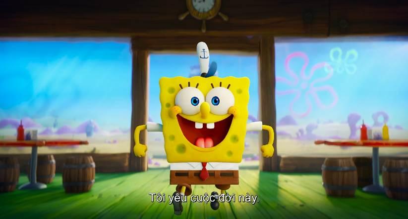 Keanu Reeves John Wick xuất hiện bất ngờ trong trailer phim hoạt hình Spongebob: Bọt biển đào tẩu - Hình 1