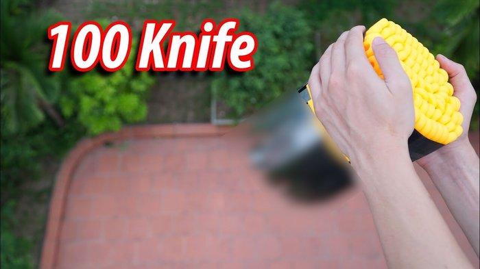 YouTuber NTN tuyên bố xoá kênh sau video 'thả 100 con dao từ trên cao' nhưng sự thật lại khiến dân mạng ngã ngửa - Hình 1