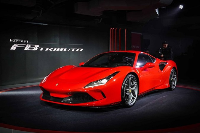 Ferrari F8 Tributo chính hãng tại Thái Lan từ 19,2 tỷ đồng - Hình 2