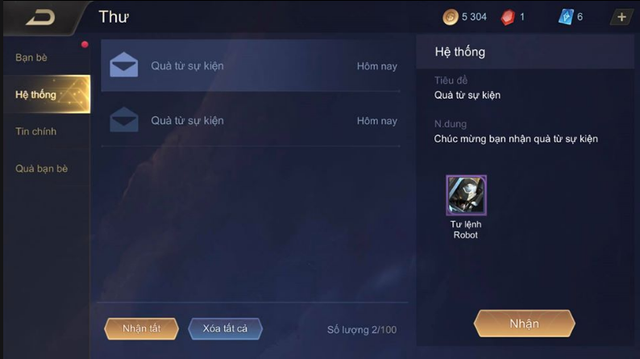 Liên Quân Mobile: Không cần nạp thẻ, game thủ vẫn nhận FREE Lữ Bố Tư Lệnh Robot siêu dễ - Hình 5