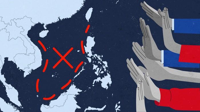 Trung Quốc mặc sức vẽ đường lưỡi bò - nguy hiểm hơn sức mạnh quân sự - Hình 1
