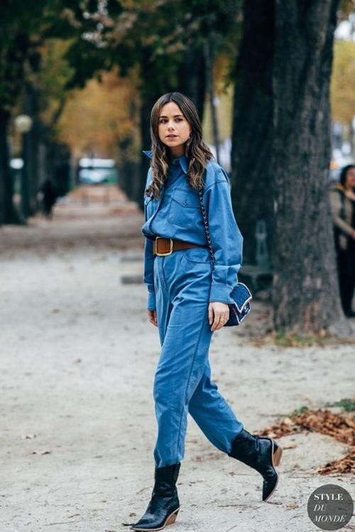 5 cách mặc denim on denim đẹp như fashionista - Hình 13