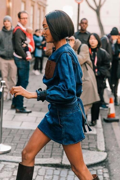 5 cách mặc denim on denim đẹp như fashionista - Hình 14