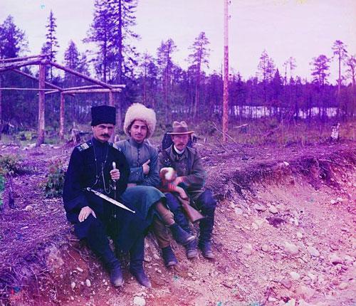 Ảnh màu tuyệt đẹp thời Nga Hoàng 100 năm trước - Hình 1
