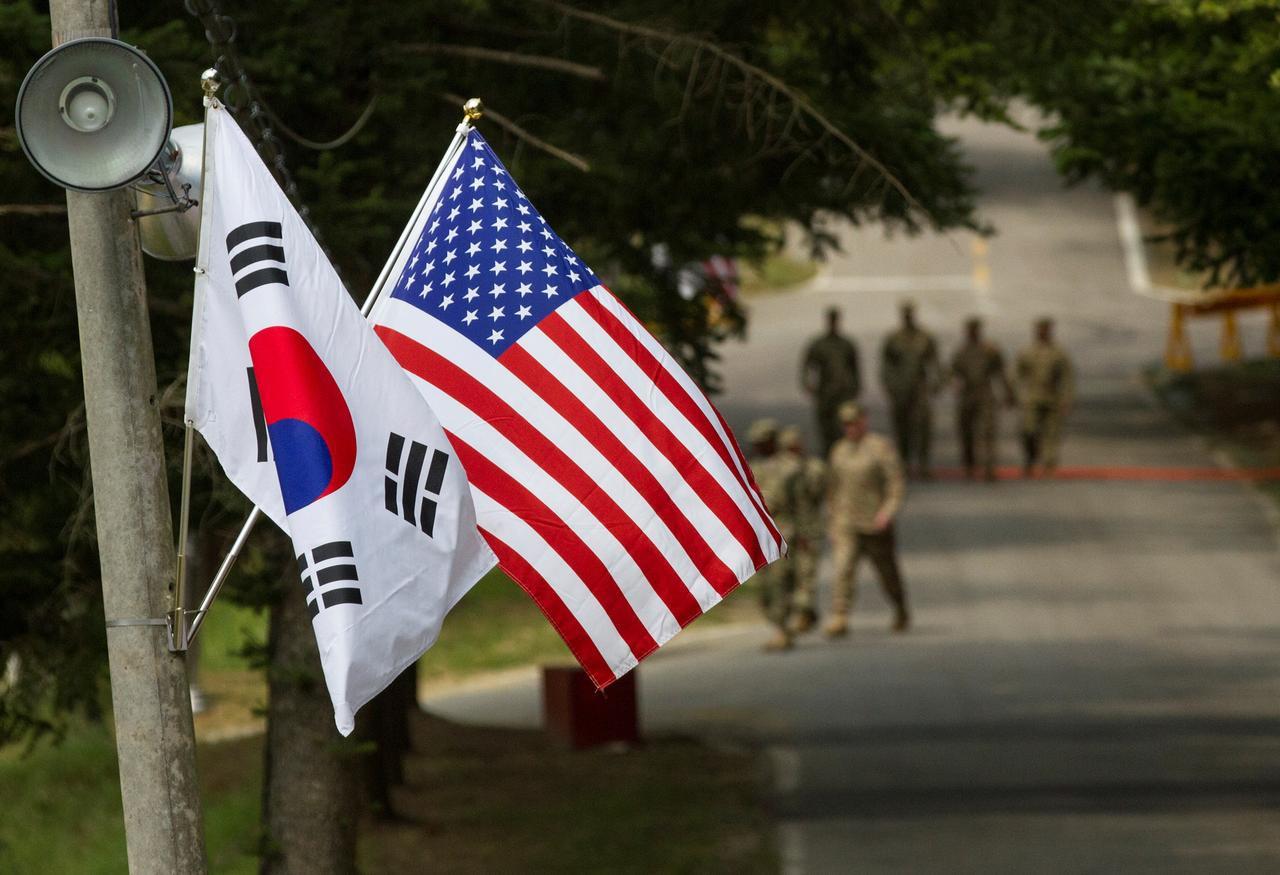 Đối thoại chia sẻ chi phí quốc phòng giữa Mỹ và Hàn Quốc đổ vỡ - Hình 1