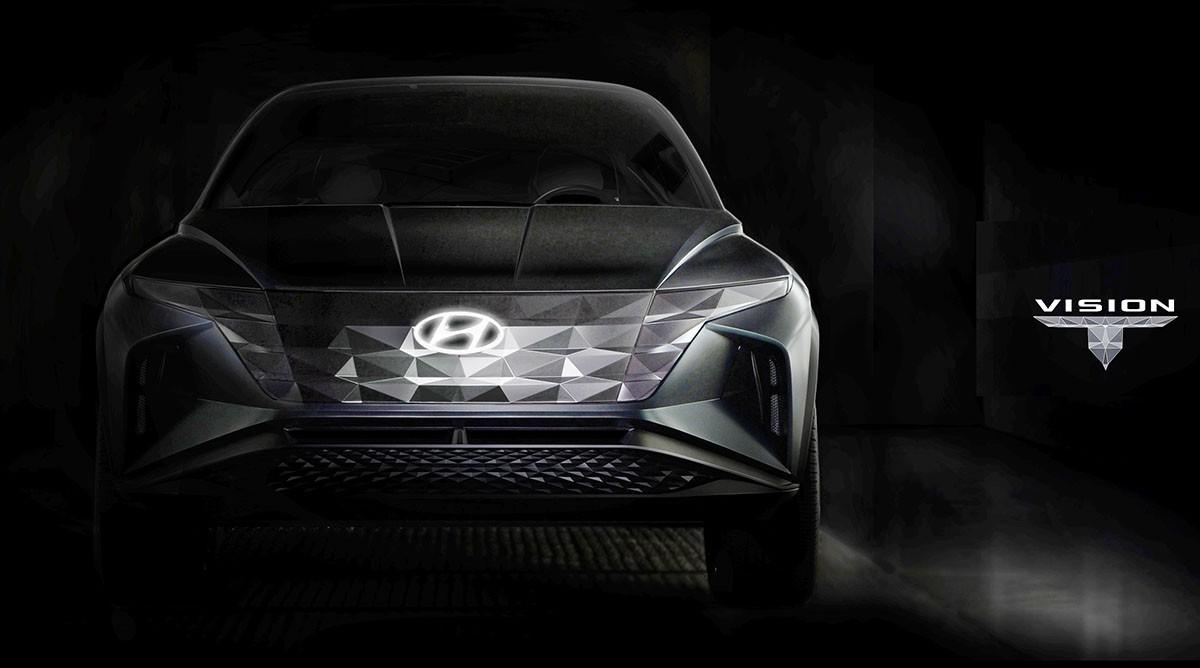 Hyundai sắp gây sốc với mẫu SUV mới: Xung quanh xe toàn là kim cương - Hình 1