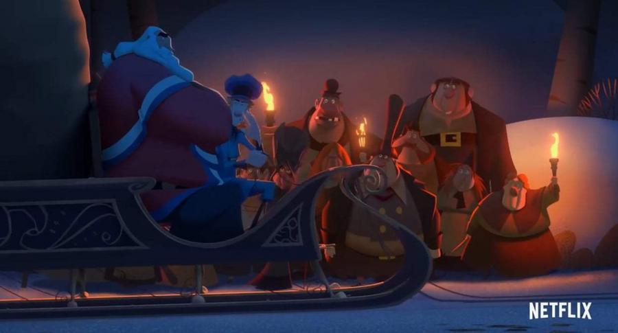 Klaus (2019) (Netflix) - Câu chuyện Giáng Sinh đời thực nhưng ngập tràn sắc màu cổ tích - Hình 1