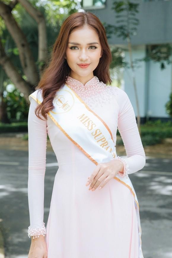 Ngọc Châu lọt top 15 người đẹp được đánh giá cao tại Hoa hậu Siêu Quốc gia 2019 - Hình 2