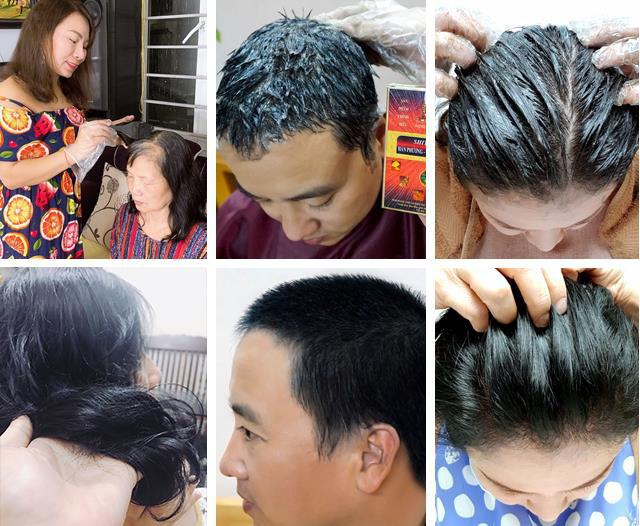 Nhà bao việc nhưng các mẹ vẫn rần rần chia sẻ bí kíp phủ đen tóc bạc siêu nhanh, siêu an toàn - Hình 2