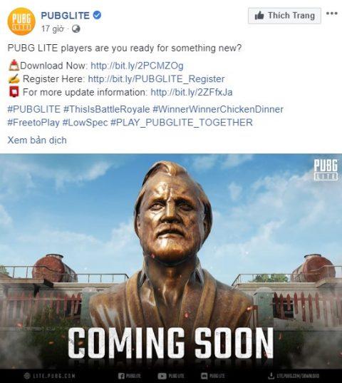 PUBG Lite sắp tung ra bản 'remake' cho map Erangel - Hình 1