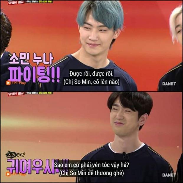 Running Man: Jeon So Min bối rối khi gặp lại Jinyoung (GOT7) và được crush làm thơ tặng... cực phũ - Hình 2