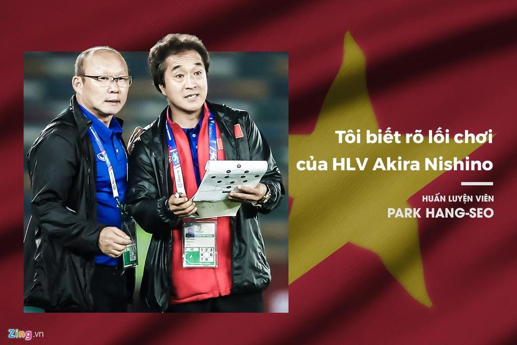 Thầy Park, HLV Nishino ăn miếng trả miếng tại Vòng loại World Cup - Hình 2