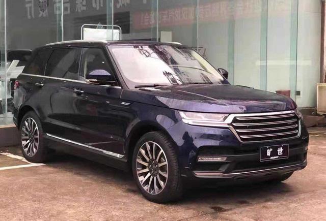 Thêm mẫu ô tô Trung Quốc giá rẻ nhái Land Rover và Mercedes tinh vi - Hình 2