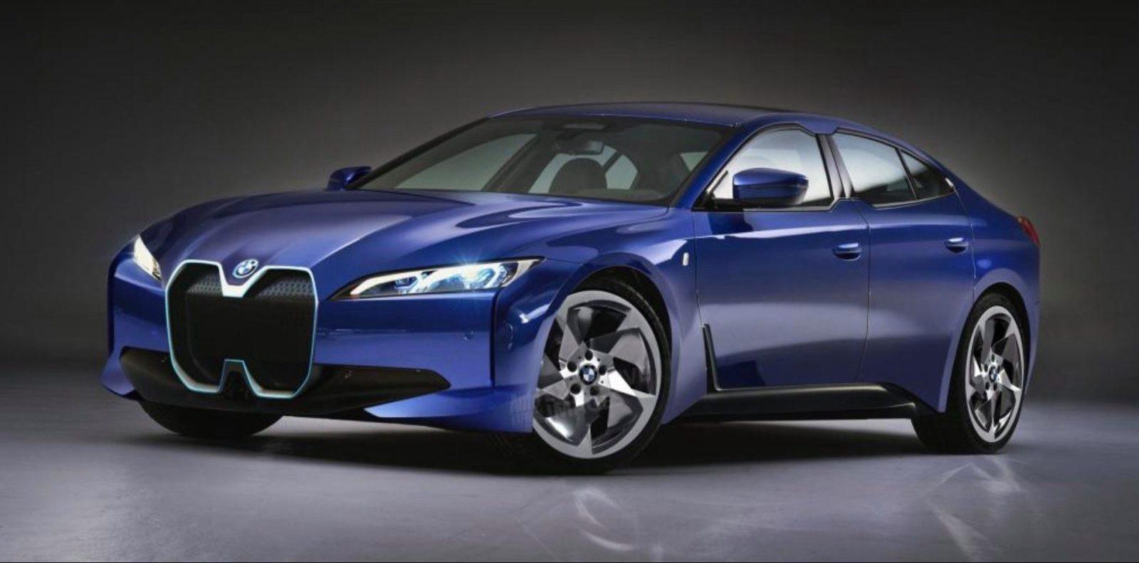 Xe điện BMW i4 sedan sẽ được giới thiệu vào năm sau - Hình 1