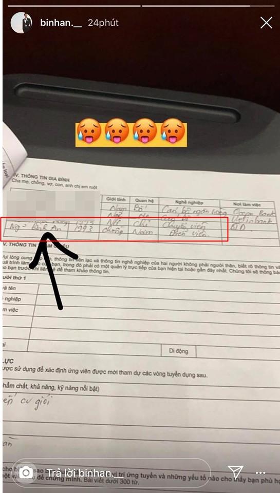 Gần 1 năm hẹn hò, Phương Nga bất ngờ nhận Bình An là chồng trong hồ sơ cá nhân: Liệu sắp có tin vui? - Hình 1