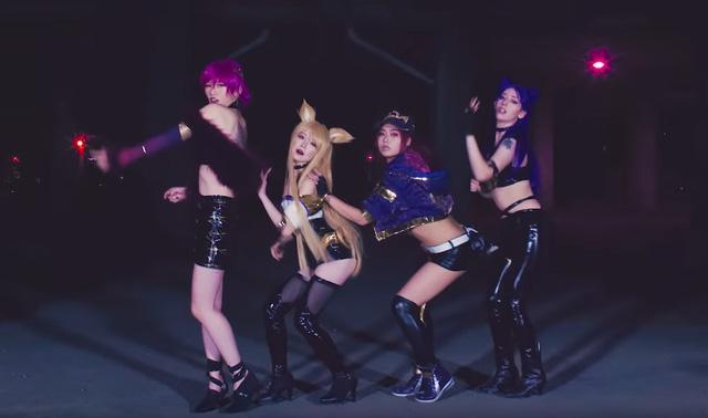 LMHT: Đội cosplay tái hiện lại màn vũ đạo của K/DA cực gợi cảm khiến fan mắt tròn mắt dẹt - Hình 1