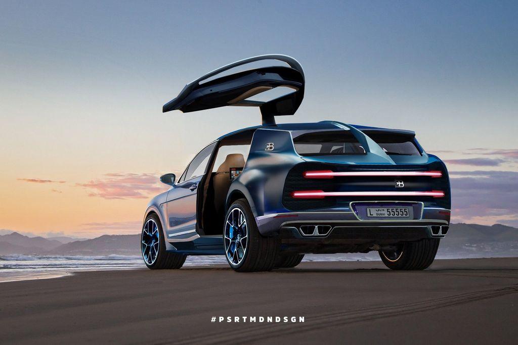 Mẫu Bugatti mới có thể là một chiếc xe Grand Tourer hoặc Crossover chạy điện - Hình 2