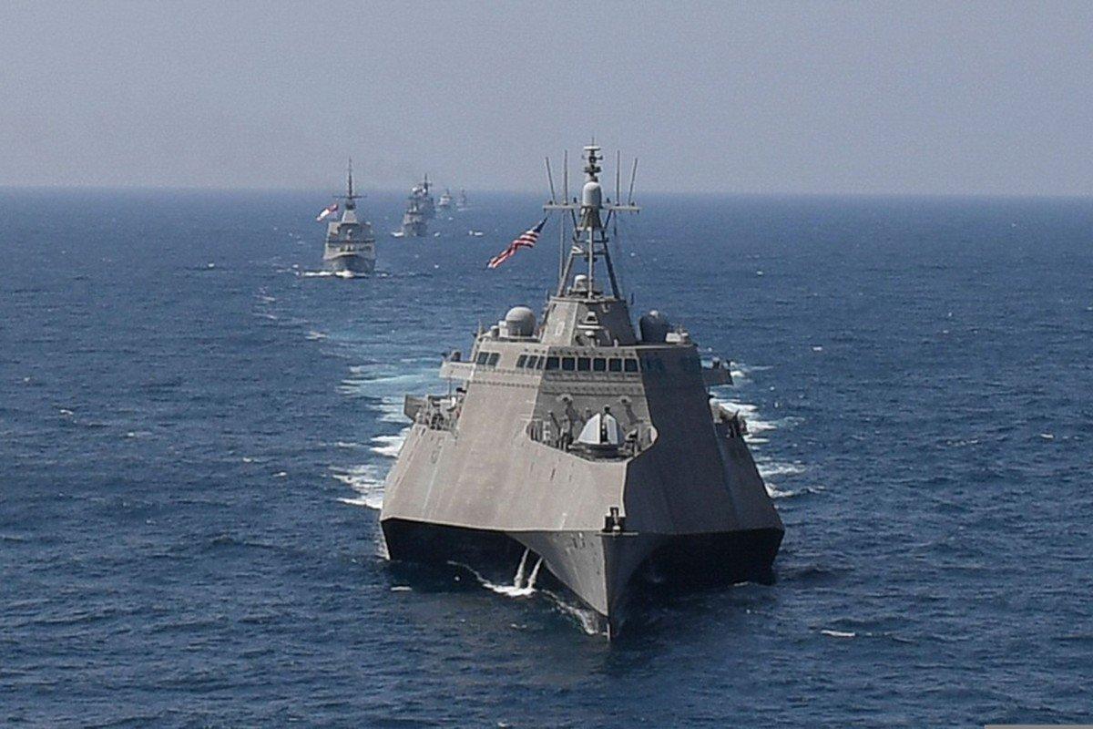 Mỹ tăng cường sức mạnh tấn công ở Biển Đông bằng chiến hạm hiện đại nhất - Hình 1