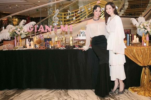 Sinh nhật mẹ, nhưng con gái Hoa hậu Giáng My lại chiếm trọn spotlight vì quá xinh - Hình 2