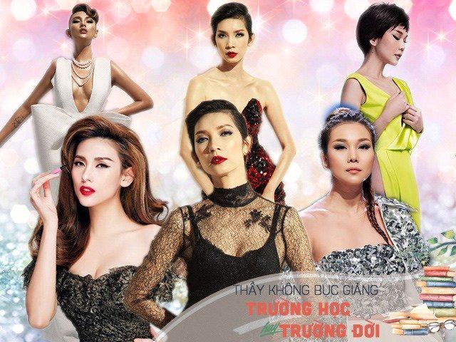 Thanh Hằng, Xuân Lan, Hoàng Yến: Những bậc thầy model của làng thời trang Việt Nam - Hình 1