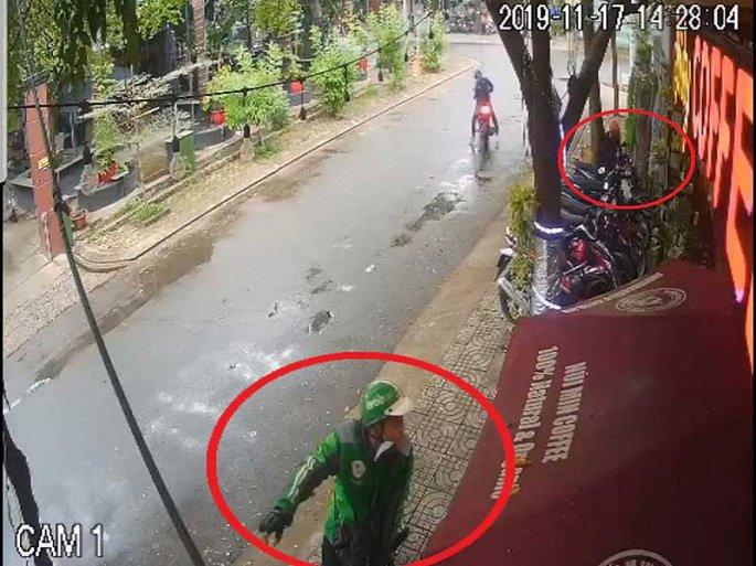 Trộm, cướp mặc áo Grab liên tiếp xuất hiện ở TP.HCM - Hình 1