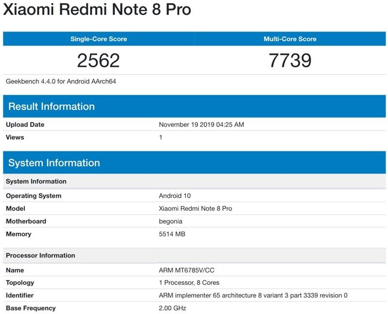 Xiaomi Redmi Note 8 Pro sẽ được cập nhật Android 10 bất cứ lúc nào - Hình 1