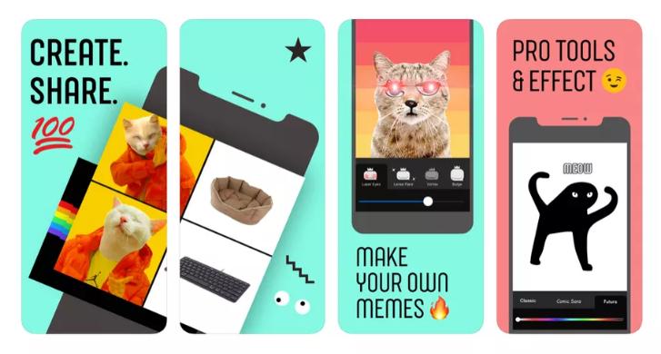Facebook phát hành ứng dụng tạo meme mới - Hình 1